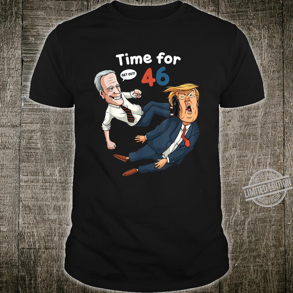 Joe Biden Shirt Biden 2020 AntiTrump Time For 46 Shirt