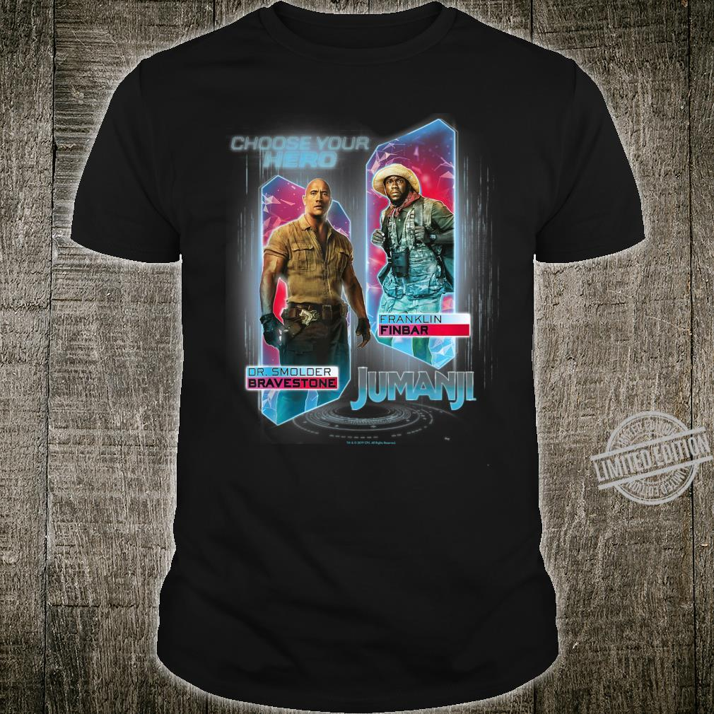 Jumanji The Next Level Dr. Bravestone & Franklin Finbar Shirt