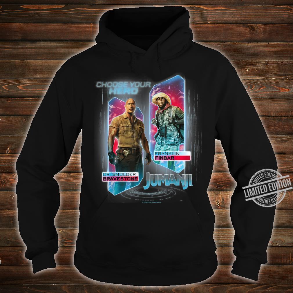 Jumanji The Next Level Dr. Bravestone & Franklin Finbar Shirt hoodie
