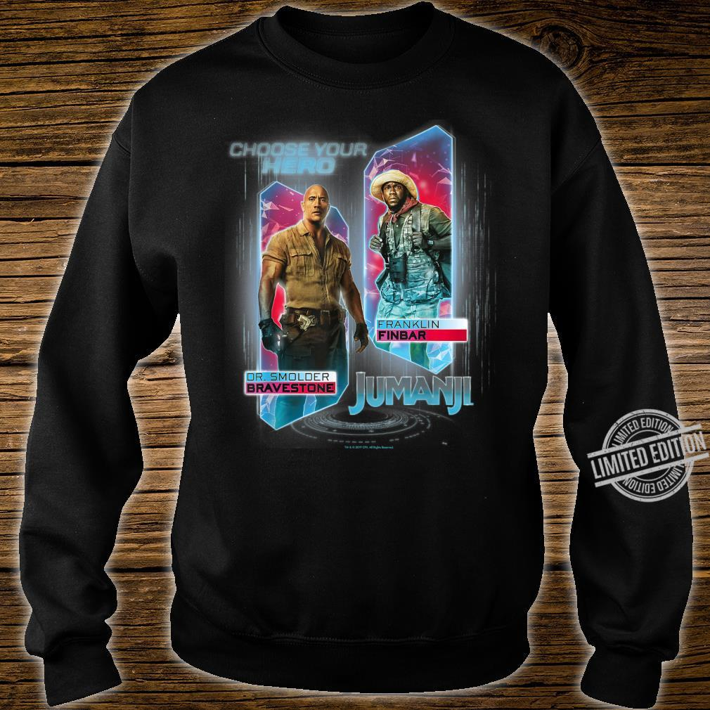 Jumanji The Next Level Dr. Bravestone & Franklin Finbar Shirt sweater