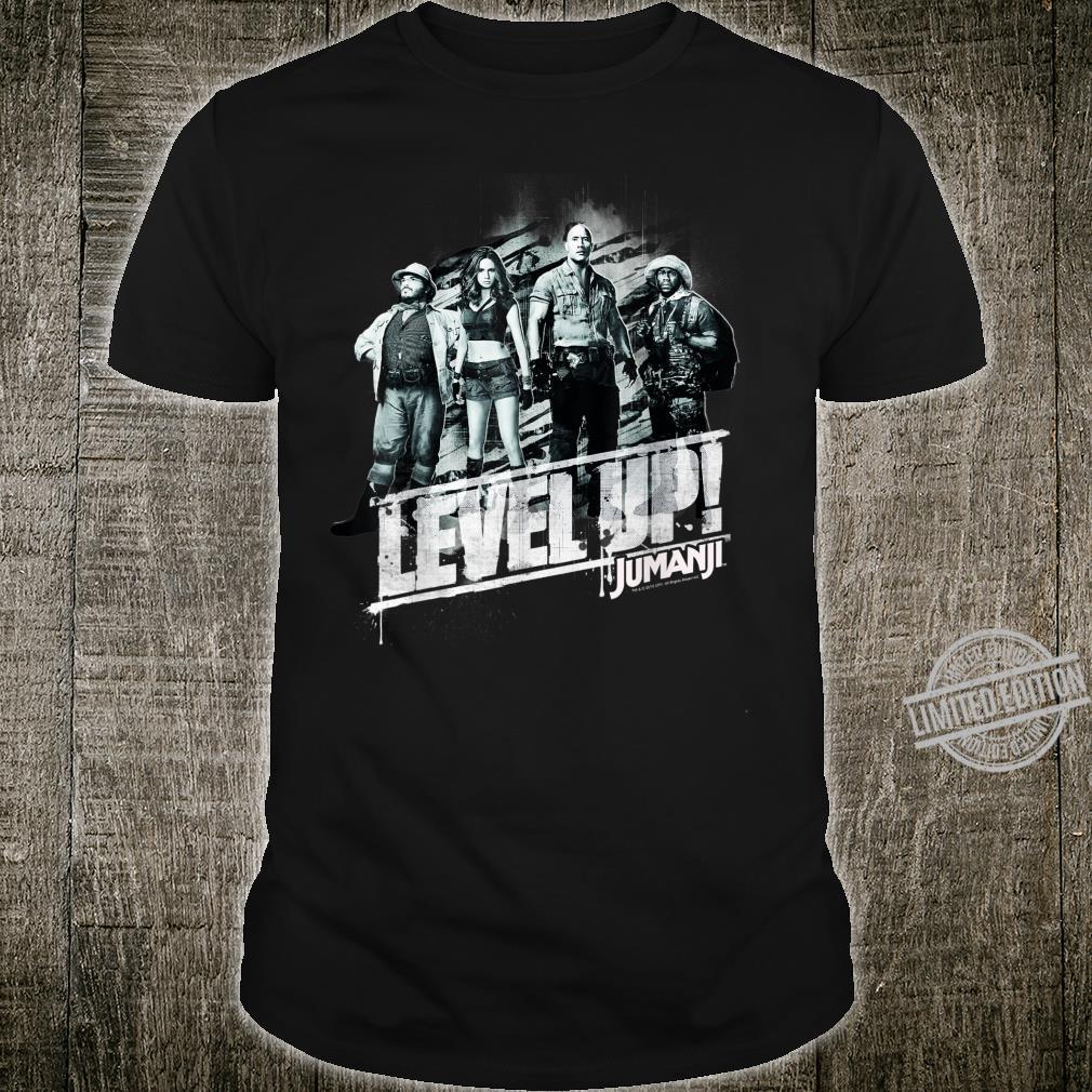 Jumanji The Next Level Group Shot Level Up Shirt