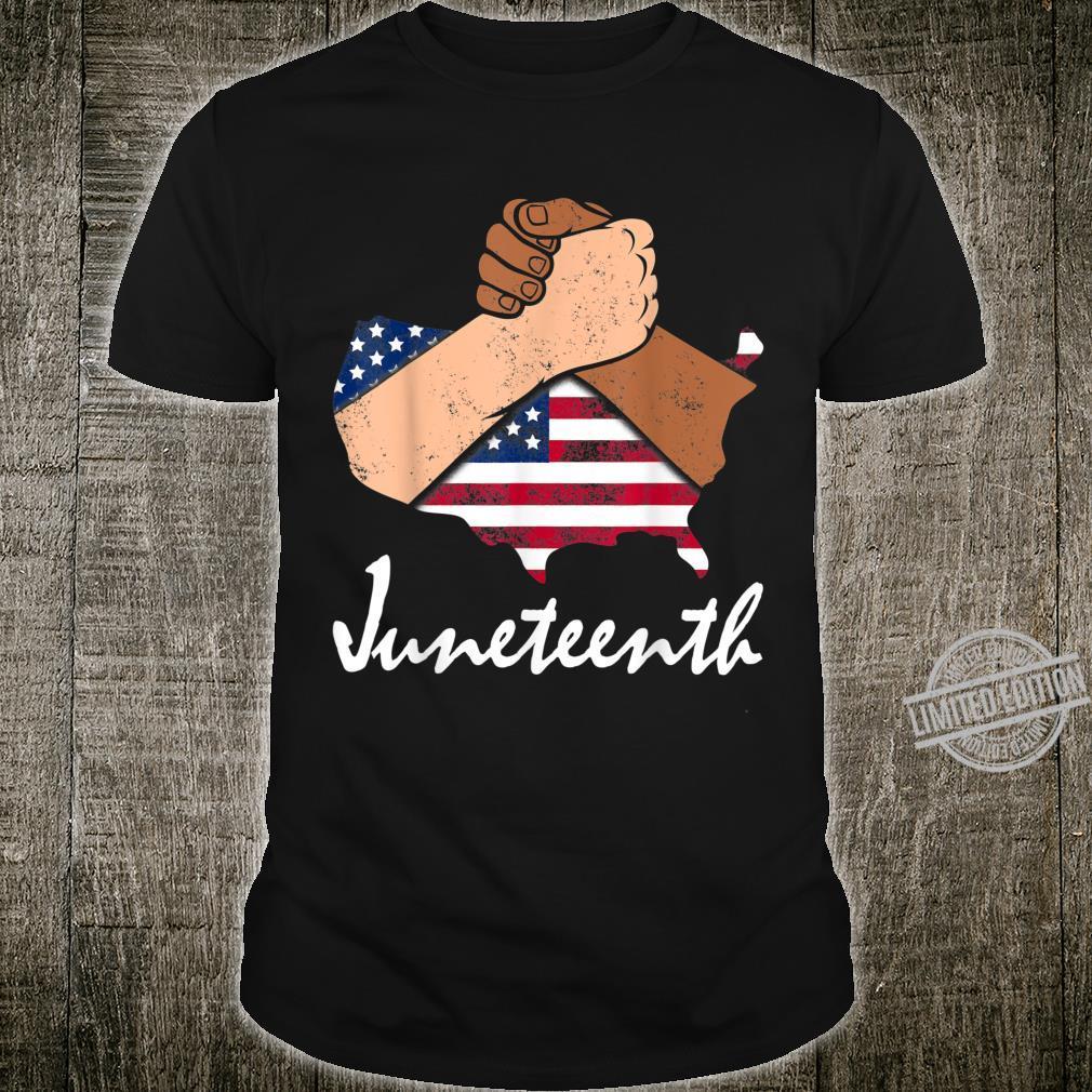 Juneteenth Strong Black African American Flag Pride DA1 Shirt