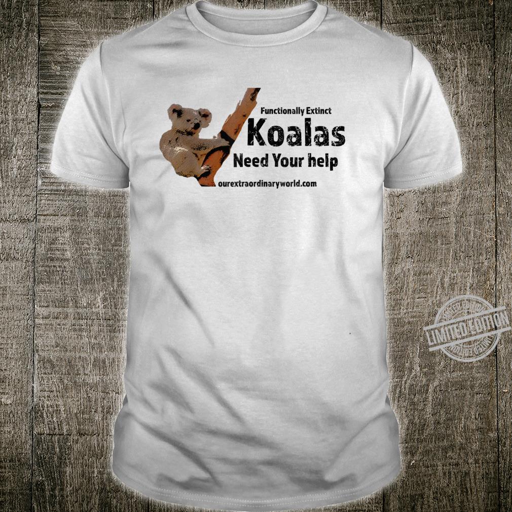 KOALAS Save the Koalas Shirt