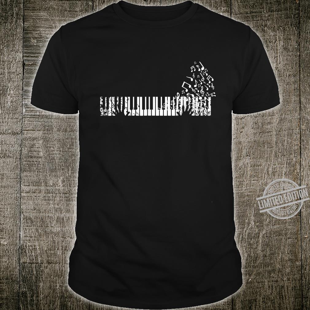 Keyboard Player Music Notes Musician Shirt
