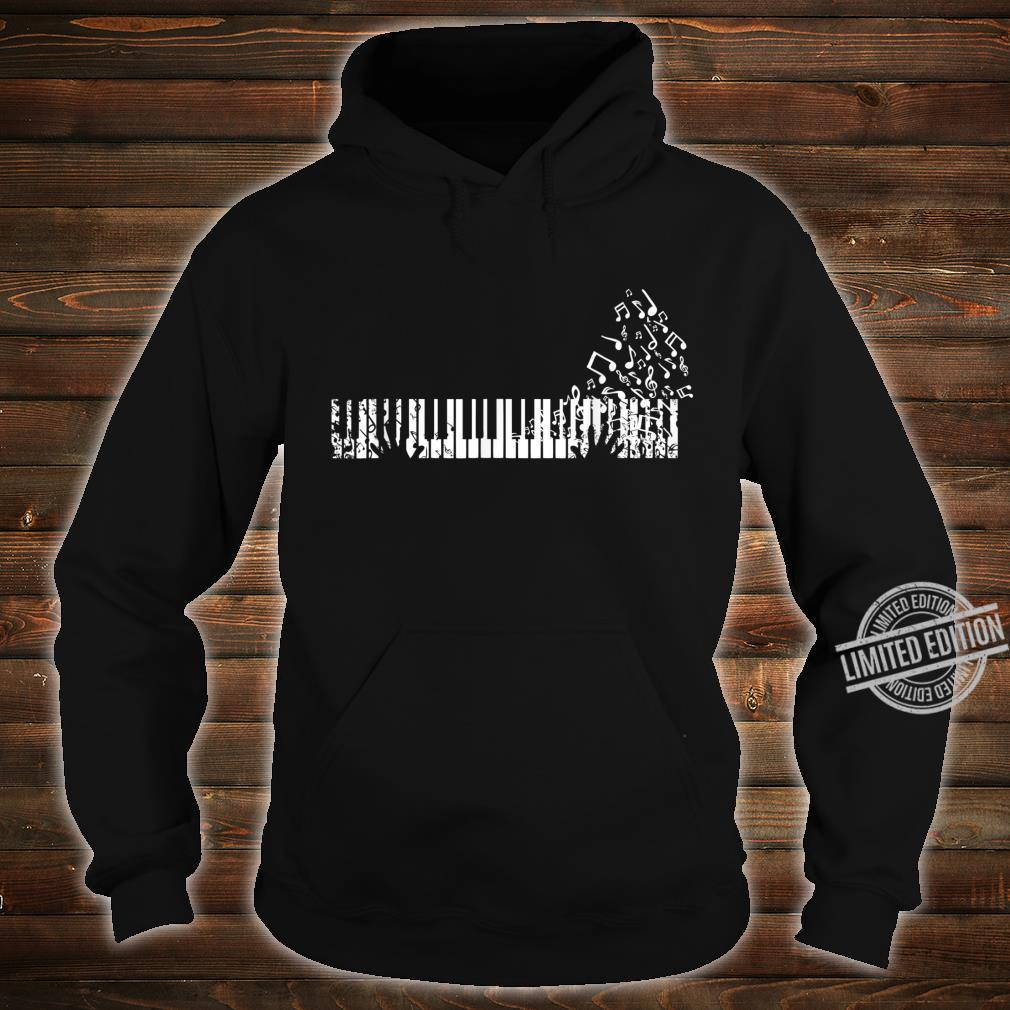 Keyboard Player Music Notes Musician Shirt hoodie