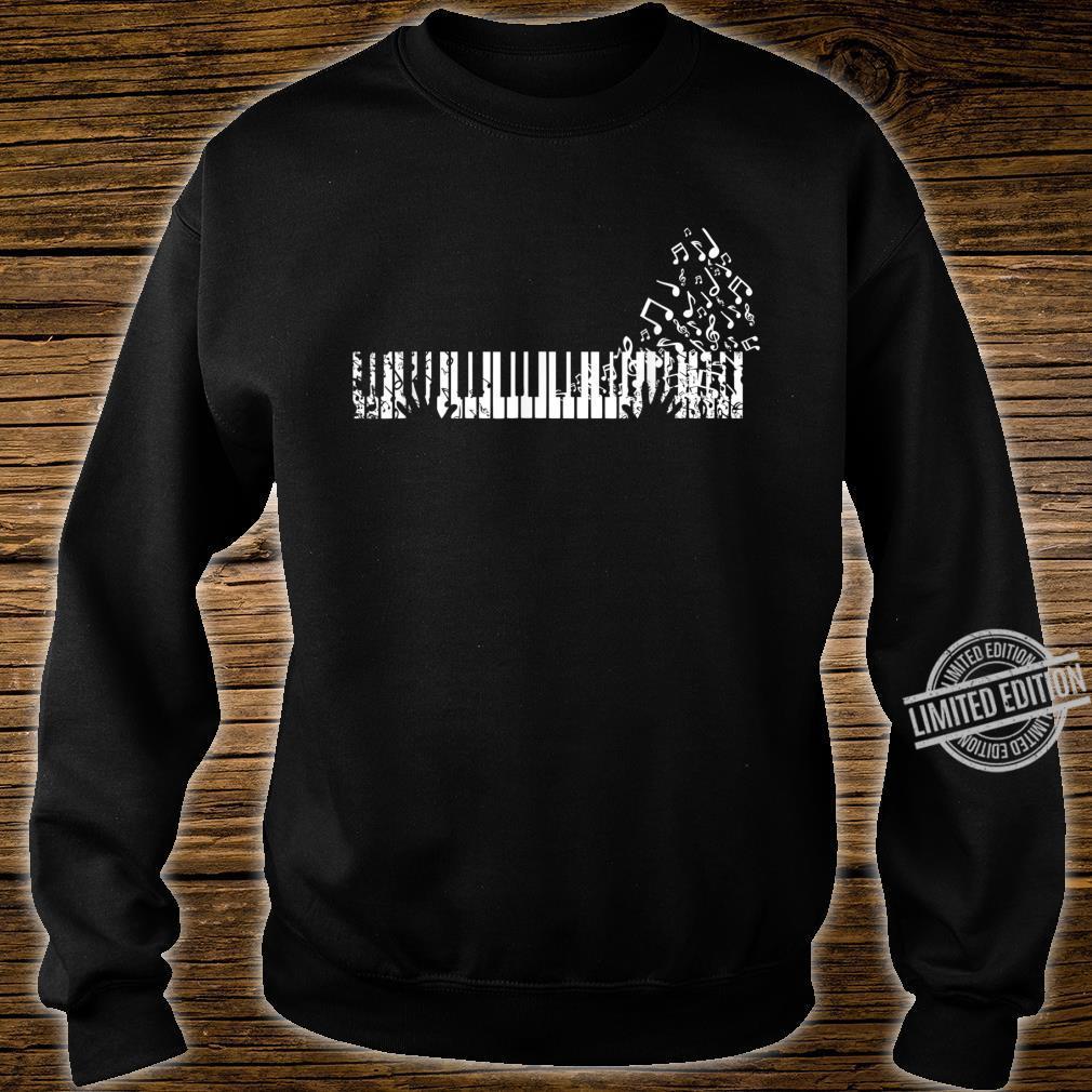 Keyboard Player Music Notes Musician Shirt sweater