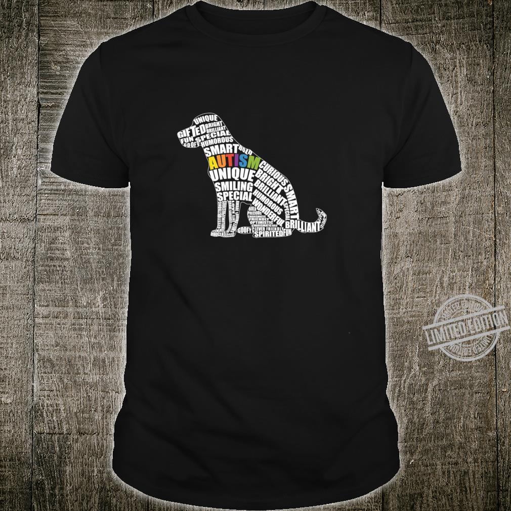 Kid's Autism Awareness Dog for Autistic Teacher Shirt