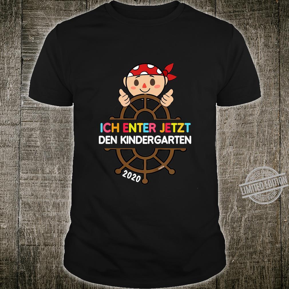 Kinder Kindergarten 2020 Start Pirat Kindergartenkind Shirt