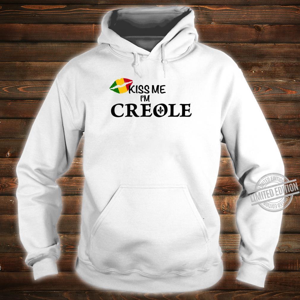 Kiss Me I'm Creole Africa Shirt hoodie