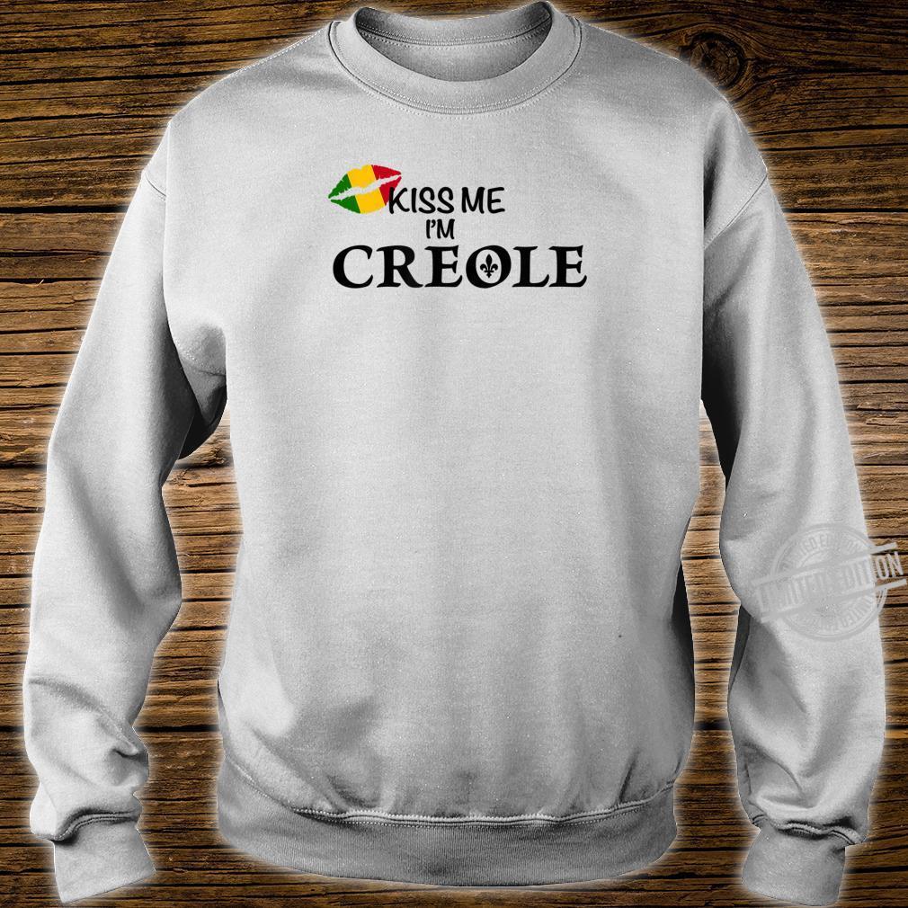 Kiss Me I'm Creole Africa Shirt sweater