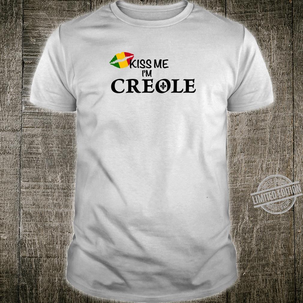 Kiss Me I'm Creole Africa Shirt