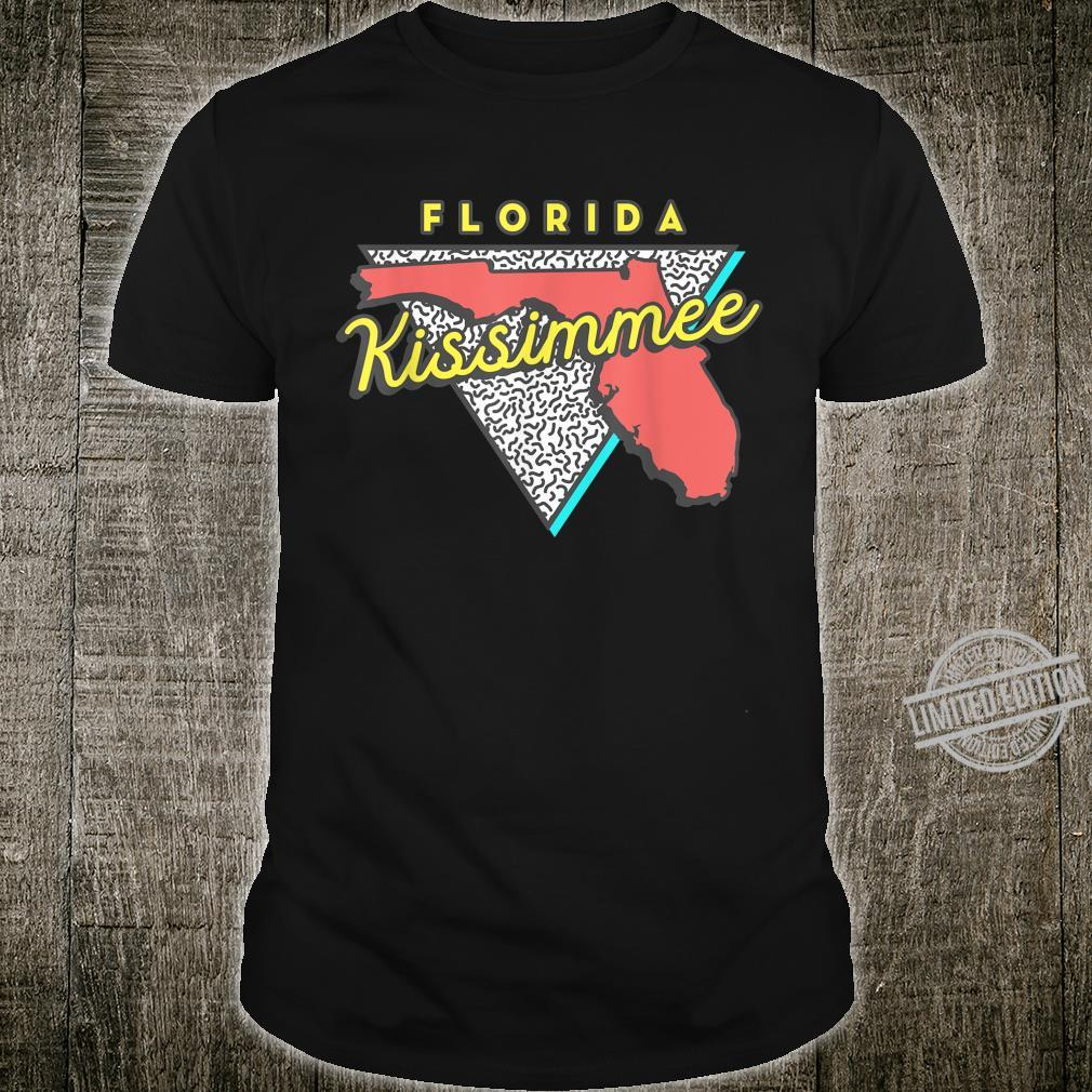 Kissimmee, Florida State Pride Family Vacation Traveling Shirt