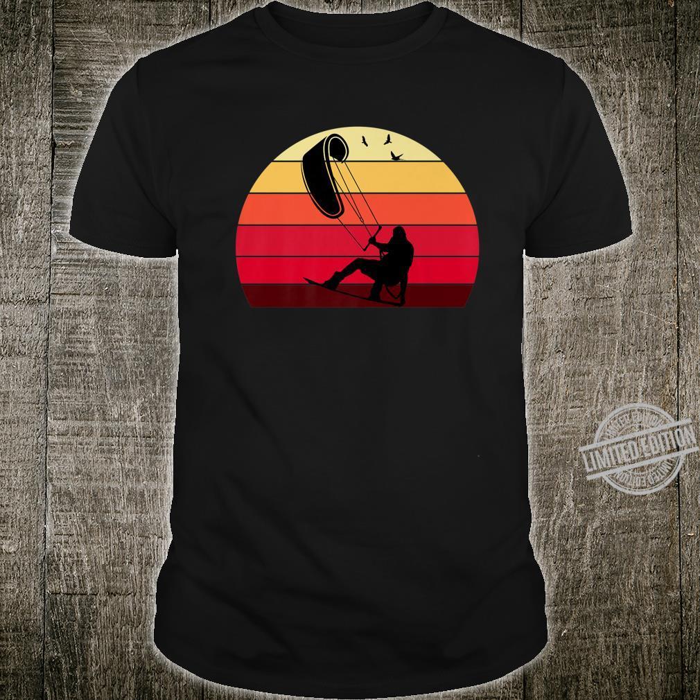 Kiteboard Retro Vintage Silhouette Distressed Shirt