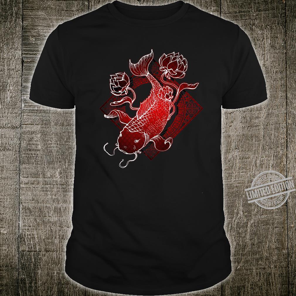 Koi Fish Design Japanese Red Koi Shirt