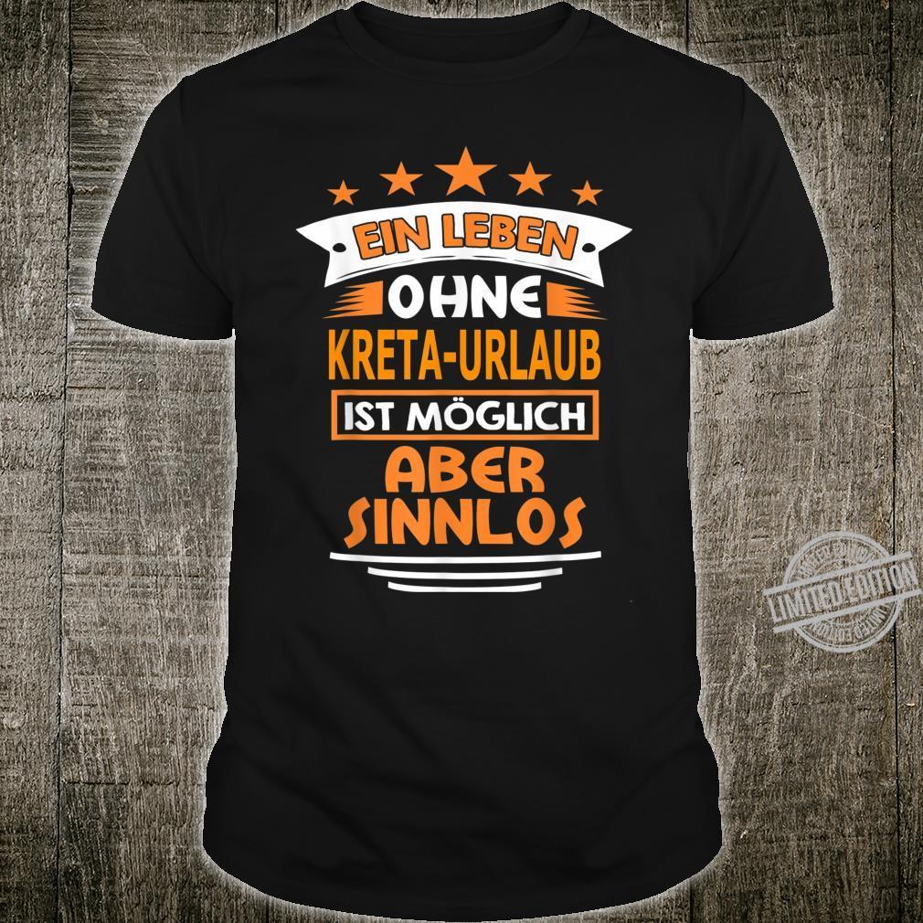 Kreta Geschenk Souvenir Shirt