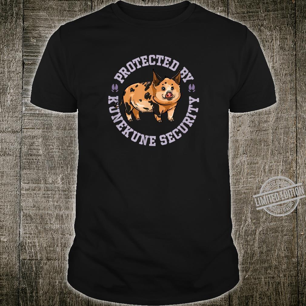 Kunekune Pig Security Shirt