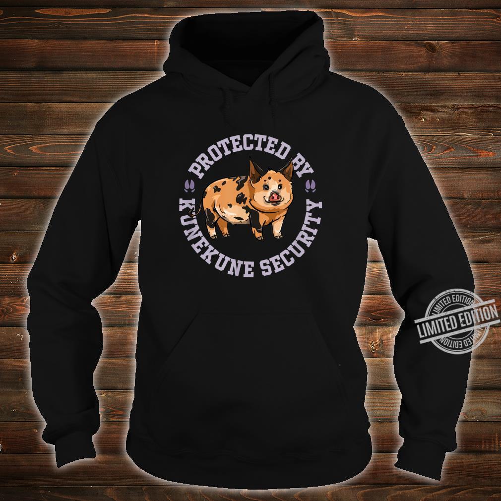 Kunekune Pig Security Shirt hoodie