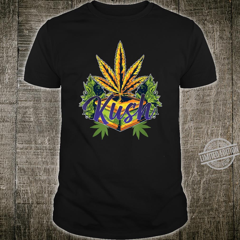 Kush Cannabis Award Winner Design Dope Marijuana Shirt
