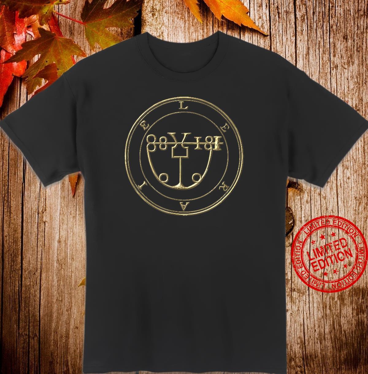 LERAIE SIGIL KING SOLOMON 72 DEMON GOETIA Shirt