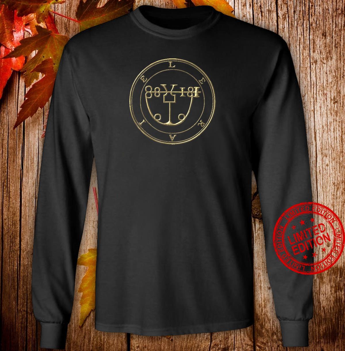LERAIE SIGIL KING SOLOMON 72 DEMON GOETIA Shirt long sleeved