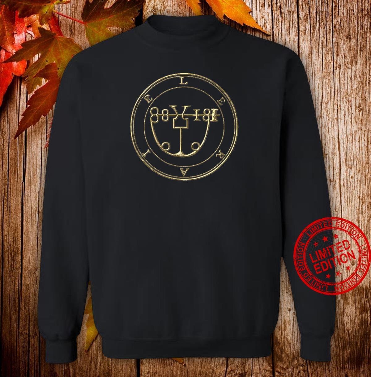 LERAIE SIGIL KING SOLOMON 72 DEMON GOETIA Shirt sweater