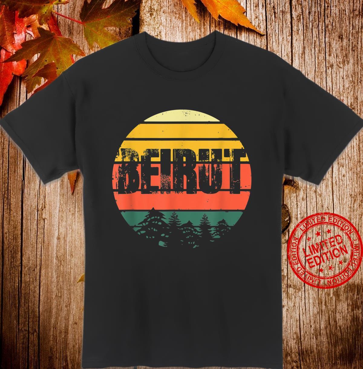 Lebanese Pride, Lebanon Beirut Vintage Lebanese Pride Shirt
