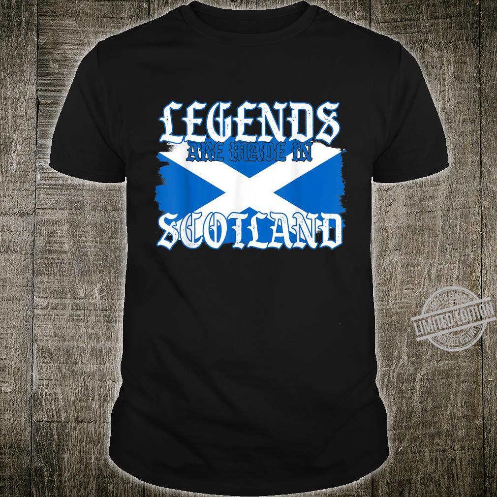 Legends Are Made In Scotland For All Scotland Shirt