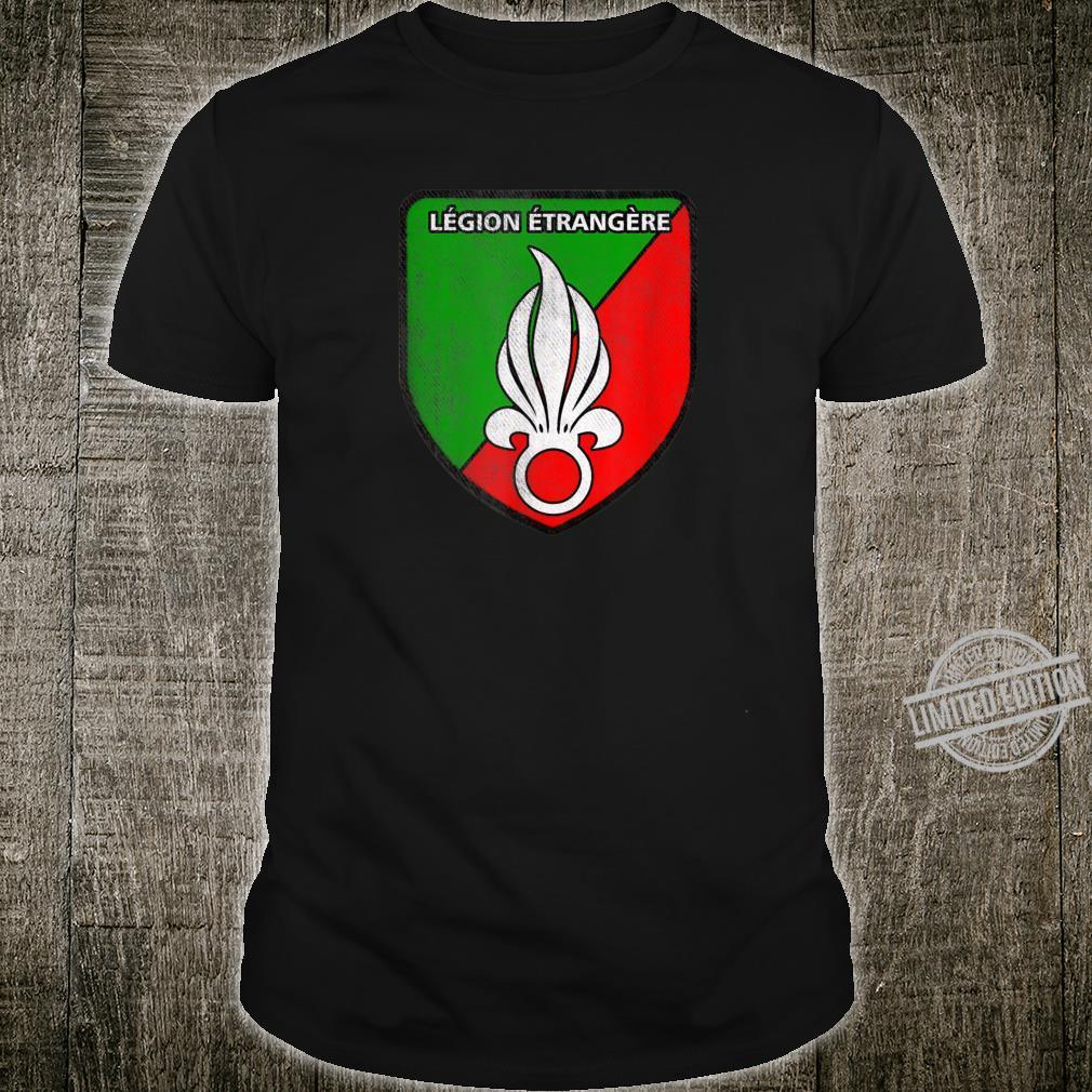 Legion Etrangere France Foreign Legion Big Logo Shirt