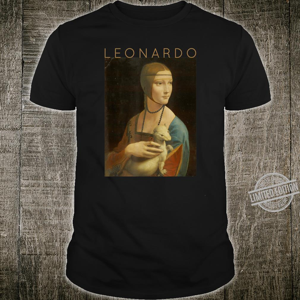 Leonardo da Vinci Lady With An Ermine Artist #3 Shirt