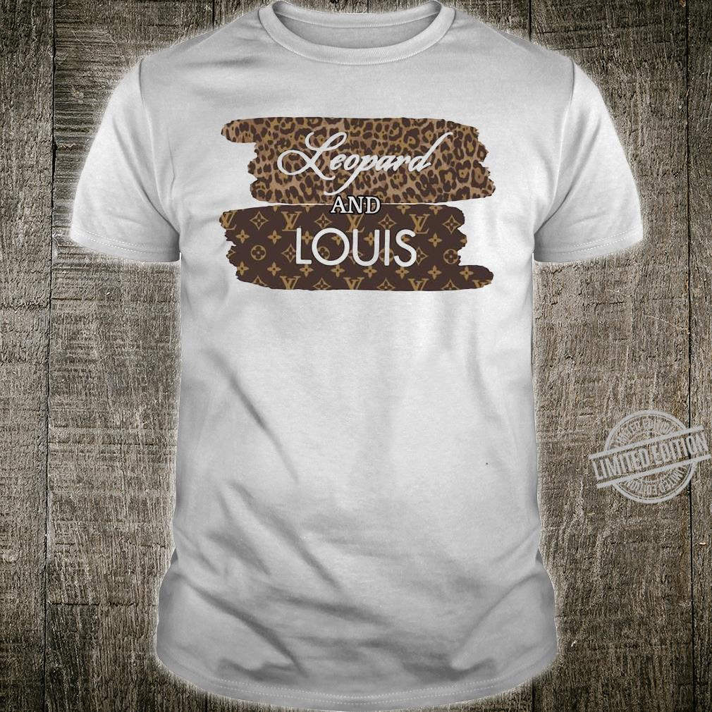 Leopard and Louis shirt