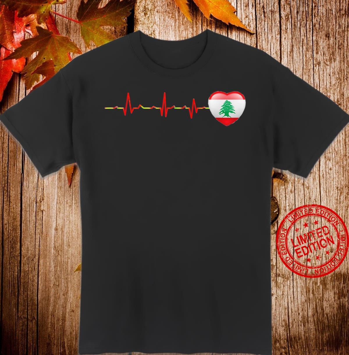 Libanon flag Drapeau Liban Beyrouth Lebanon Beirut Shirt