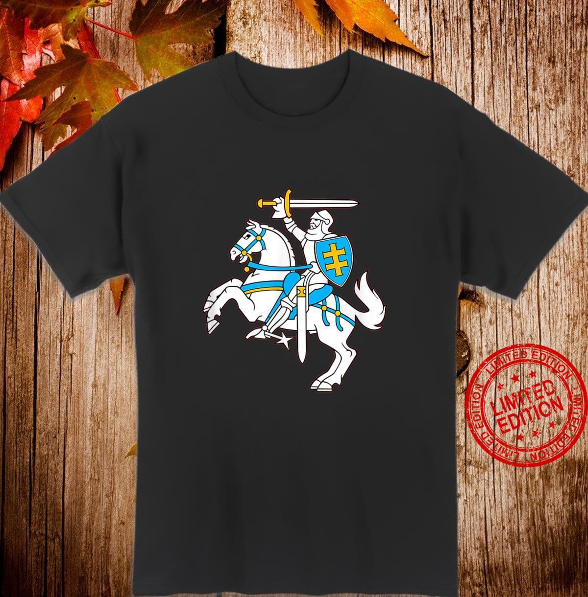 Lithuanian Coat Of Arms Vytis Shirt Lietuva Pride Shirt