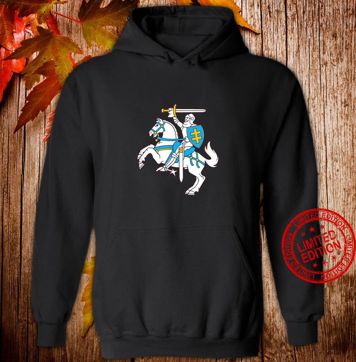 Lithuanian Coat Of Arms Vytis Shirt Lietuva Pride Shirt hoodie
