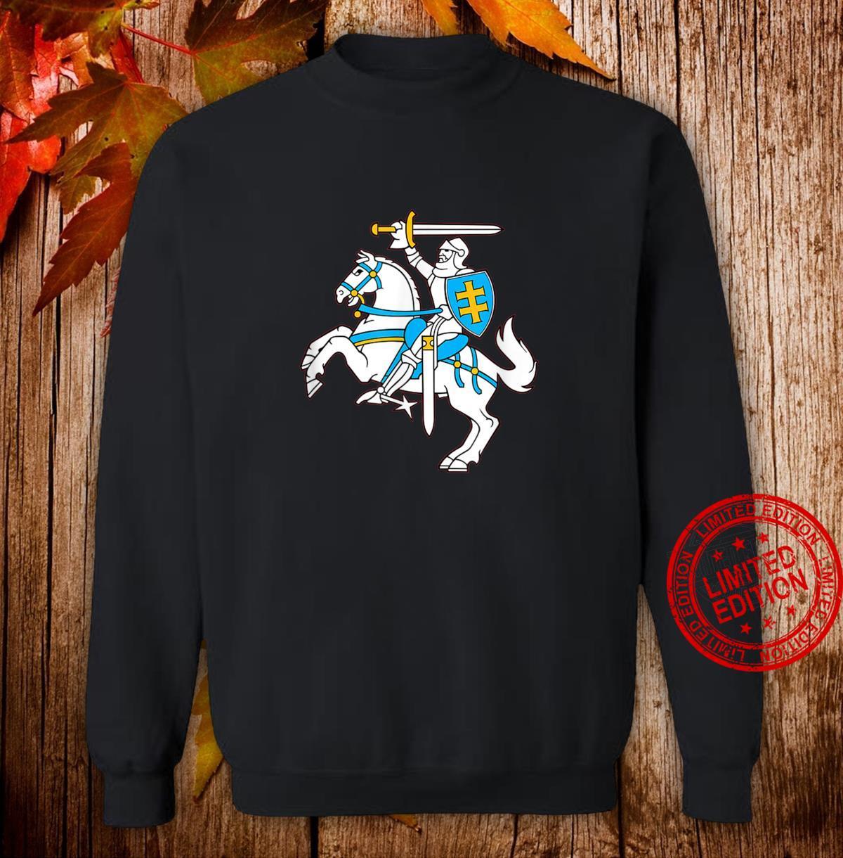 Lithuanian Coat Of Arms Vytis Shirt Lietuva Pride Shirt sweater