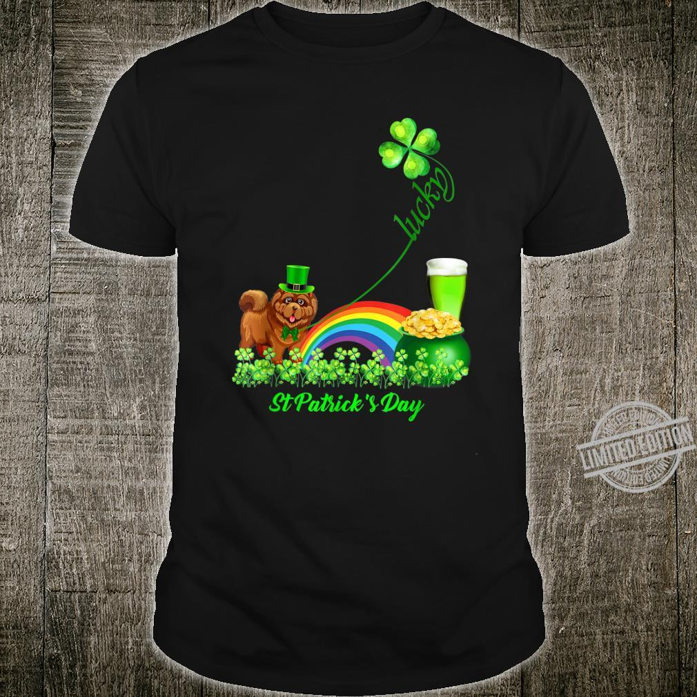 Lucky Cavalier Dog Shamrock St Patrick's Day Shirt
