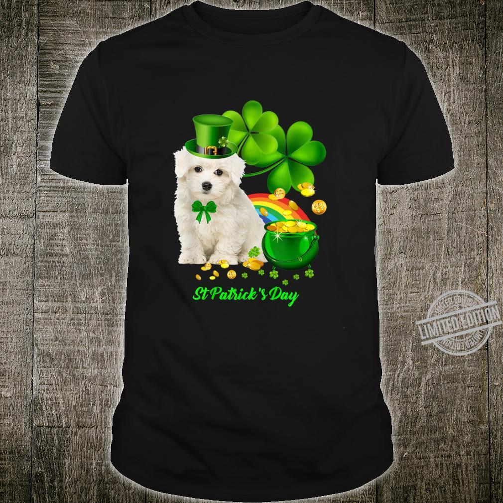 Lucky Saint Coton De Tulear Dog Shamrock St Patrick Day Shirt