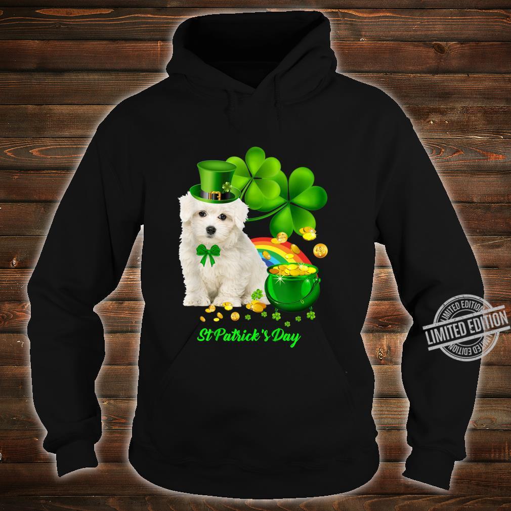 Lucky Saint Coton De Tulear Dog Shamrock St Patrick Day Shirt hoodie