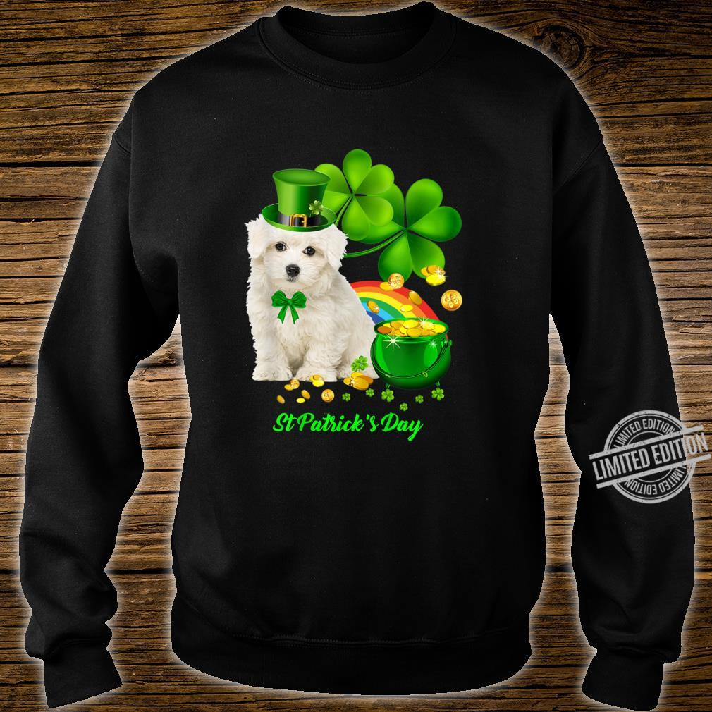 Lucky Saint Coton De Tulear Dog Shamrock St Patrick Day Shirt sweater