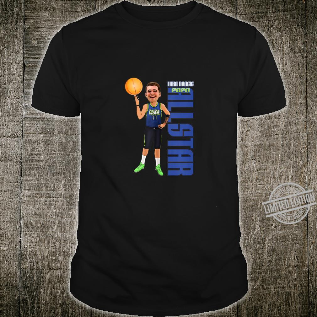 Luka Doncic AllStar Basketball Shirt