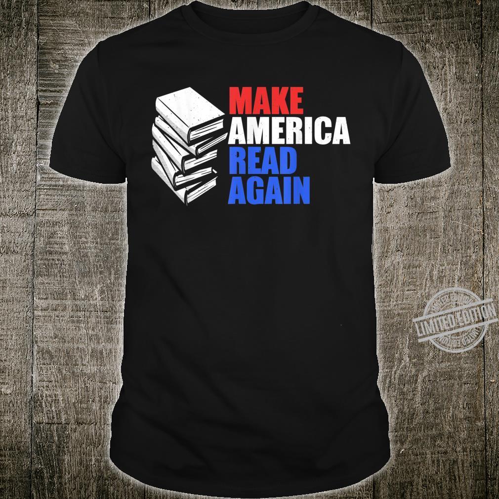 Make America Read Again Shirt Reading Shirt