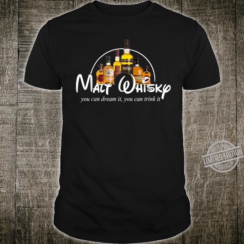 Malt Whisky Whiskey Parodie Whisky Geschenkidee Whisky Shirt