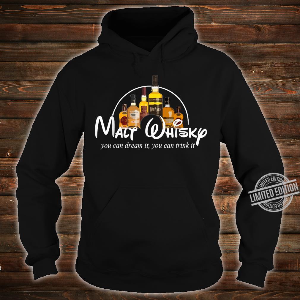 Malt Whisky Whiskey Parodie Whisky Geschenkidee Whisky Shirt hoodie