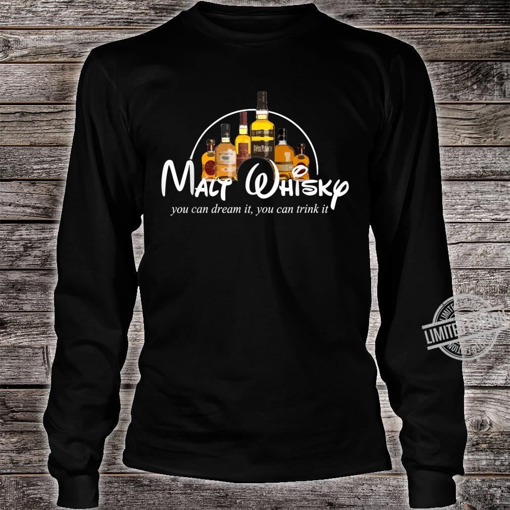 Malt Whisky Whiskey Parodie Whisky Geschenkidee Whisky Shirt long sleeved