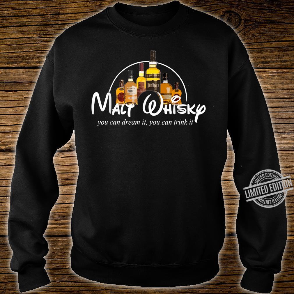 Malt Whisky Whiskey Parodie Whisky Geschenkidee Whisky Shirt sweater