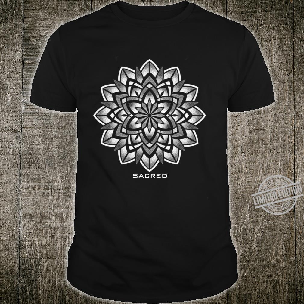 Mandala heilige geometrische Langarmshirt Shirt