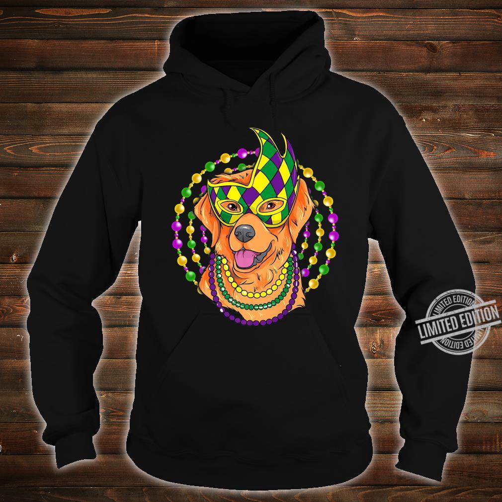 Mardi Gras Cute Labrador Puppy Shirt hoodie