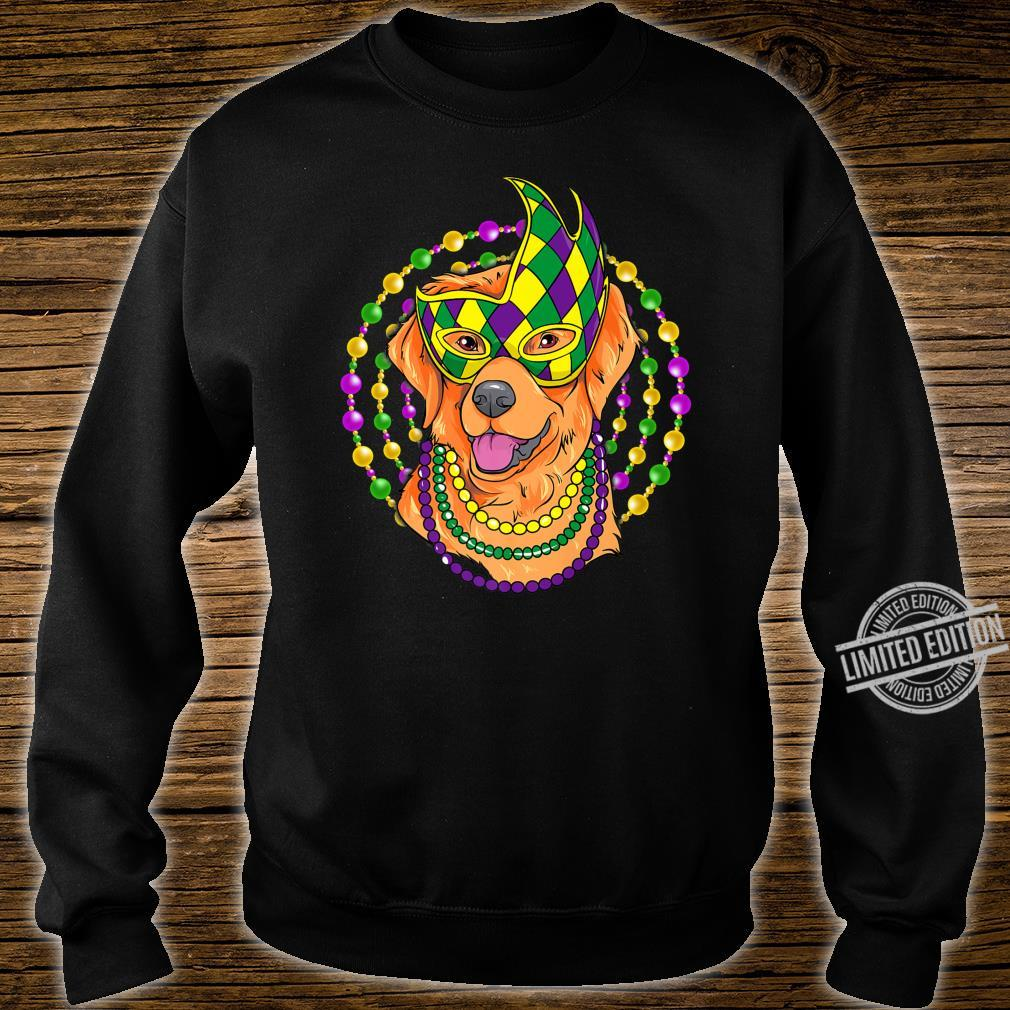 Mardi Gras Cute Labrador Puppy Shirt sweater