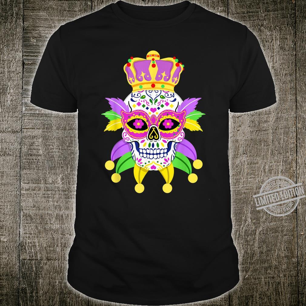 Mardi Gras Sugar Skull Mardi Gras 2020 Shirt