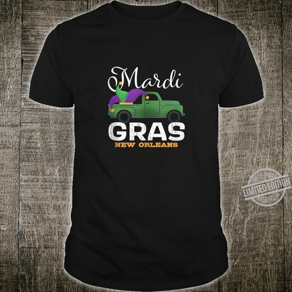 Mardi Gras Truck New Orleans Awesome Festival Costume Shirt