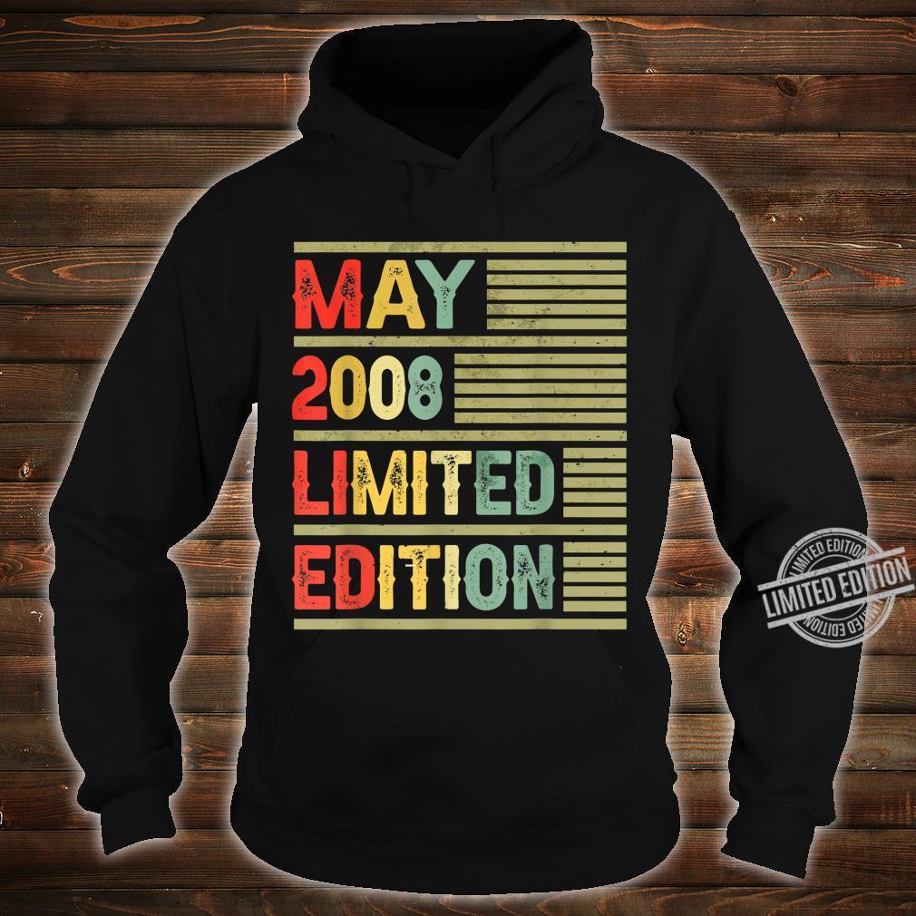 May 2008 Limited Edition Retro Vintage 12th Birthday Shirt hoodie